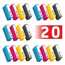 Pack de 20 cartuchos a elegir de tinta Epson DX4400, DX4450. No originales.
