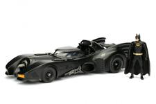Batmobile with Figure Jada Toys Boys Metals 1989 Die Cast Body Kids Toy Vehicle