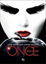 Once Upon A Time: The Fifth Season 5 Five (DVD, 2016, 5-Disc) Brand New & Sealed