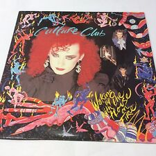 "CULTURE CLUB ""WAKING UP WITH THE HOUSE ON FIRE"" VG/VG Boy George Vinyl LP 12"""