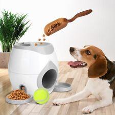 Pet Ball Launcher Toy Dog Tennis Food Reward Machine Thrower Interactive Treatme