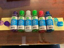 Bottle Crew 3oz Flip Top Plastic Bottle SIX PACK (SIX BOTTLES) Assorted Colors