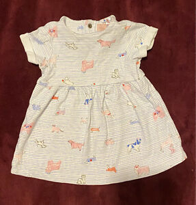 Joules Dress 3-6 Months Baby Girl