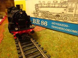 PIKO locomotive vapeur BR 86 DRG époque II en Ho 1/87eme