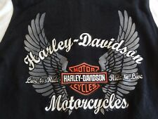 HARLEY DAVIDSON S Motorcycle Zip Jacket Live to Ride HOODIE Sweatshirt Varsity