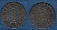 Cu 3 Pfennig 1636-1650 Lippe-Detmold Simon Philipp ca. 1,76 g (cc2) stampsdealer