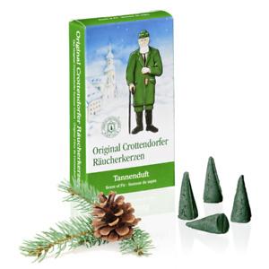 original Crottendorfer Räucherkerzen ERZGEBIRGE Duftkegel viele Weihnachtsdüfte