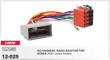 CARAV 12-029 Conector ISO OEM Radio Adaptador HONDA 2008+