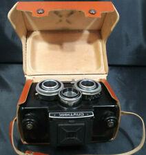 SPUTNIK  Stereo Camera LOMO 3D + LEATHER CASE: USSR VINTAGE. SHIPS FROM USA