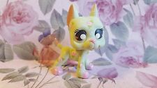 Great Dane Dog Secret Garden Pink Rose * OOAK Painted Custom Littlest Pet Shop