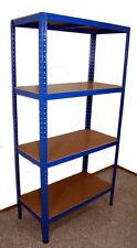 Schwerlastregal Lagerregal Steckregal Werkstatt Regal 265kg p. Boden Blau Neu OV