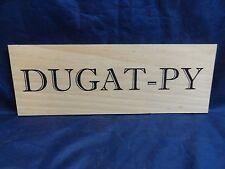 DUGAT-PY WOOD WINE PANEL