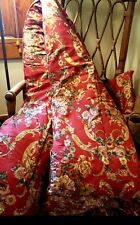 RARE! Vintage Retired RALPH Lauren  *QUEEN/Full COMFORTER BEDSPREAD Red Floral