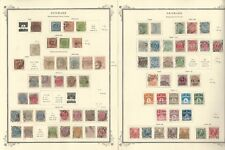 Denmark Collection 1851 to 1984 on 40 Scott Specialty Pages, SCV $3600