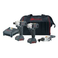 3 Pc. 12V Cordless-Impactool, Driver, Ratchet Kit IRTIQV12-302 Brand New!