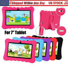 "Universal 7-inch Silicone Soft Case Protective Cover For 7"" Q88 Y88 Kids Tablet"