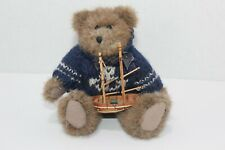 The Boyds Collection Plush Bear - Christian (with boat)