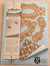 SPELLBINDERS SHAPEABILITIES Dies Tags Two (6 DIES) S4-600 New