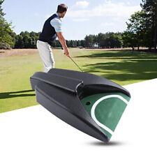 Golf Ball Kick Back Auto Return Putting Mat Device Golf Training Aid X1 #Hf0