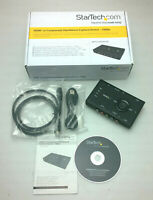 STARTECH USB2HDCAPS Standalone Video Capture / Streaming HDMI Component 1080p