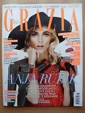 GRAZIA 24/2013 ANJA RUBIK on front cover in. Victoria's Secret Angels
