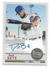 2019 Topps Archives Snapshots David Bote Auto - Chicago Cubs