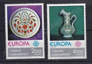 EUROPA MNH STAMP SET 1976 TURKEY CRAFTS SG 2547-2548