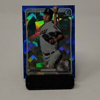 2020 Bowman Chrome Sapphire Edition DANE DUNNING Blue Atomic Refractor #BCP-92