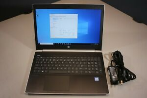"HP ProBook 450 G5 15.6"" i5-8250U@1.60GHz, 16GB RAM, Win 10 Pro, No Bottom Covers"