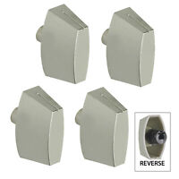 STOVES Oven Cooker Control Knob Switch Silver 444444842 444448787 444448790 x 4