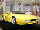 Ferrari 512 TR in Fly Yellow this New but old stock Minichamps 1:43rd .scale