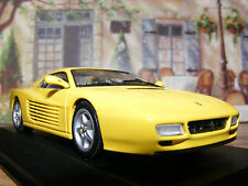 Ferrari 512 TR in Fly Yellow This but Old Stock MINICHAMPS 1 43rd .scale