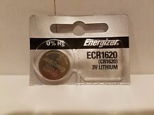 1 FRESH Genuine Energizer CR1620 ECR1620 3V Coin Button Batteries Fast Shipping