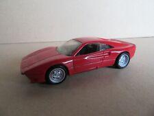 160M 2001'S Hotwheels Chine Ferrari 288 GTO Rouge 1:43 Mattel