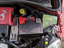 Fiat 500 ABARTH Aluminium Ecu Cover Next to battery on left 2012