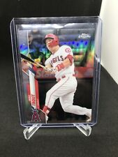 2020 Topps Chrome Mike Trout Refractor