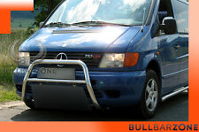 MERCEDES VITO 1996-2003 TUBO PROTEZIONE MEDIUM BULL BAR INOX STAINLESS STEEL