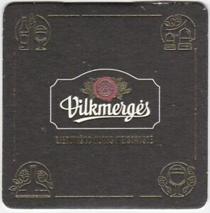 Beer mat / coaster VILKMERGES (Lithuania)