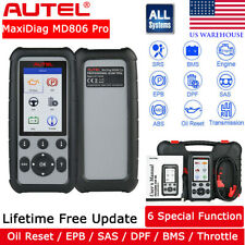 AUTEL MD806 Pro OBD2 Scanner ALL System Auto Diagnostic Tool ABS SRS DPF EPB BMS