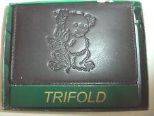 Koala Bear Genuine Leather Wallet,Black