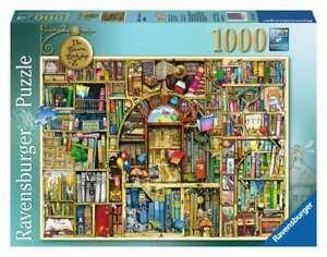 """Ravensburger  -  """"The Bizarre Bookshop 2""""  -  Puzzle 1000 Piece  NEW"""