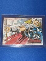 Marvel Avengers: Age of Ultron - hand-drawn artist sketch card - Thor