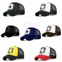 2021 Fashion Mesh Snapback Cotton Baseball Cap Hip-Hop Hat Trucker Sports Hat
