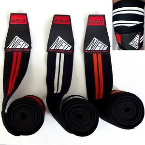 NFT Knee Wraps Weight Lifting Bandage Powerlifting Straps Guard Pad Gym Training