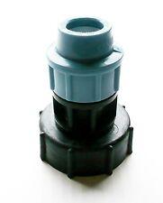 """IBC Adaptador (2 """"s60x6 Grueso Hilo) a 20 mm Recto MdPE de compresión de montaje"""