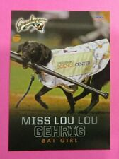 2018 Choice, Greensboro Grasshoppers, Bat Girl - MISS LOU LOU GEHRIG