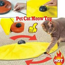 Pet Cat Meow Toy V4 Electronic Interactive Undercover Mouse Cat Kitten Toys