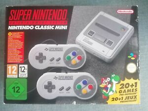 Super Nintendo Entertainment System SNES Classic Mini Console.