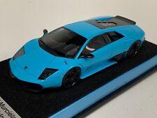 1/43 Looksmart Lamborghini Murcielago LP 670-4 Superveloce Fixed Wing Baby Blue