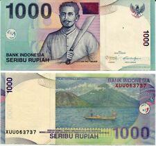 INDONESIA 1000 1,000 RUPEES 2011 P 141 X REPLACEMENT UNC